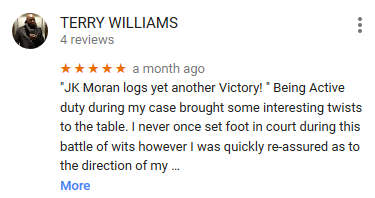 Moran Law Firm Google Reviews