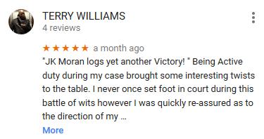 Moran Law Firm Google Reviews